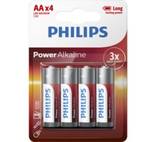 Bateri Philips PowerLife AA, 4 copë