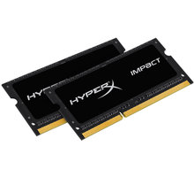 Memorie operative Kingston HyperX Impact, 2x8GB DDR3, 1600MHz